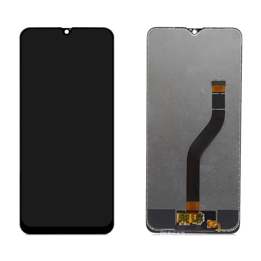 Дисплей (LCD) Samsung A207 Galaxy A20s (2019) PLS с тачскрином, черный, оригинал (Factory Refurbished)