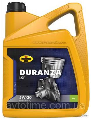 Купить Олива моторна DURANZA LSP 5W-30 5л KROON OIL KL 34203