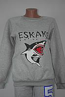 Теплая кофта с акулой