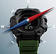 Skmei Мужские часы Skmei Processor Green с шагомером и барометром, фото 7