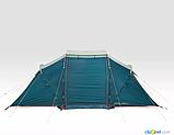 Палатка Arpenaz 4.2 QUECHUA. Четыреместная, двухкомнатная, фото 2