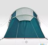 Палатка Arpenaz 4.2 QUECHUA. Четыреместная, двухкомнатная, фото 6