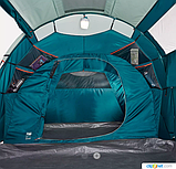 Палатка Arpenaz 4.2 QUECHUA. Четыреместная, двухкомнатная, фото 8