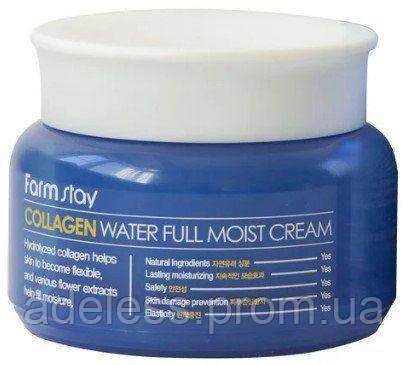 Увлажняющий крем с коллагеном FarmStay Collagen Water Full Moist Cream, 100 мл