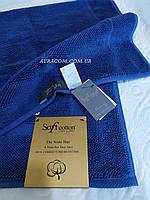 Коврик - полотенце для ног, люксовая серия, Soft cotton, Node синий, Турция