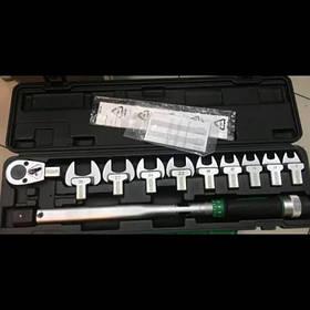 """Ключ динамометричний в наборі зі змінними насадками 1/2"""" 11ед. 40-210Nm TOPTUL GAAI1101 (Тайвань)"""