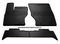 Коврики в авто, автоковрики LAND ROVER RANGE ROVER IV (L405) 2012 резиновые Stingray