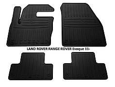 Резиновые автомобильные коврики в салон LAND ROVER RANGE ROVER Evoque 2011 ренжровер евок Stingray