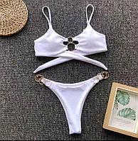 Купальник женский Varleinsar бразильский бикини с кольцами