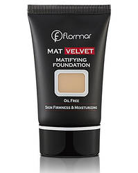 Тональный крем FLORMAR MAT VELVET MATIFYING FOUNDATION