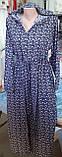 Платье с капишоном штапельные, 8042, фото 6