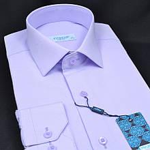 Сорочка чоловіча, приталена (Slim Fit), з довгим рукавом FITMENS/PASHAMEN 00736-02 80% бавовна 20% поліестер
