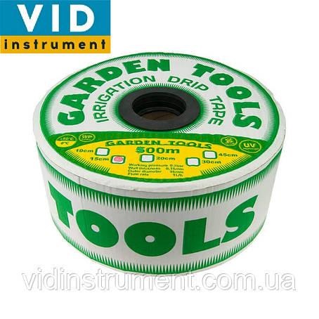 Капельная лента Garden Tools (расстояние между эммитерами 10см, длина 1500м), фото 2