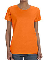 Футболка Gildan Ladies Heavy Safety Orange