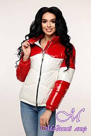 Жіноча демісезонна куртка великого розміру (р. 44-54) арт. 12-36/7-20