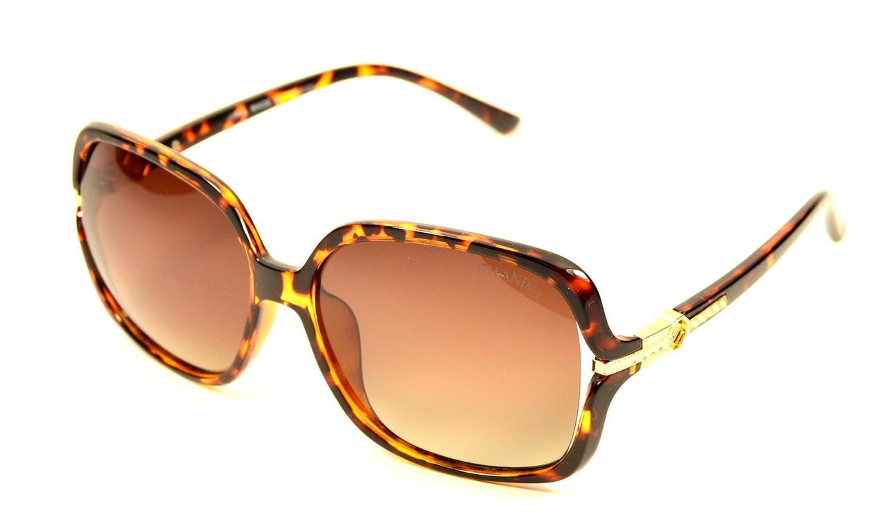 Женские солнцезащитные очки Chanel Polaroid (8026 C6)