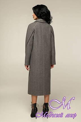Свободное женское пальто весна осень (р. 44-54) арт. 12-40/25, фото 2