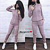 Костюм теплый женский вязаный штаны и кофта, фото 3