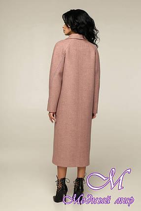 Женское свободное пальто весна осень (р. 44-54) арт. 12-40/31, фото 2