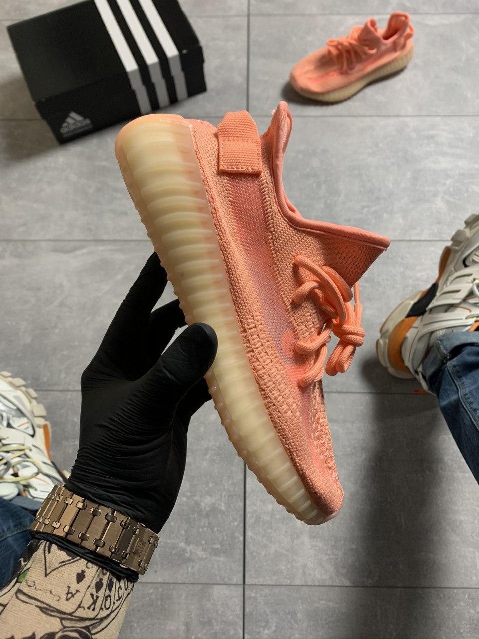 Женские кроссовки Adidas Yeezy Boost 350 V2 Pink