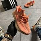 Женские кроссовки Adidas Yeezy Boost 350 V2 Pink, фото 6