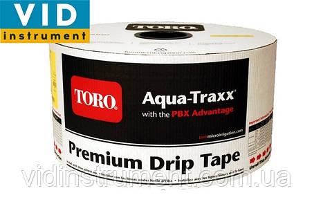 Крапельна стрічка Aqua-Traxx (відстань 10-15-20-30,стінка 6мм, довжина 200м), фото 2