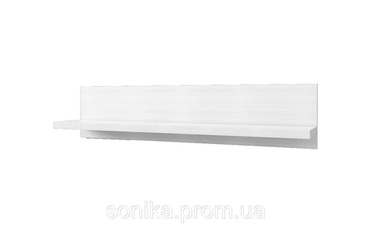 Полка OLIVIA 120 Крем/Дуб Ancona