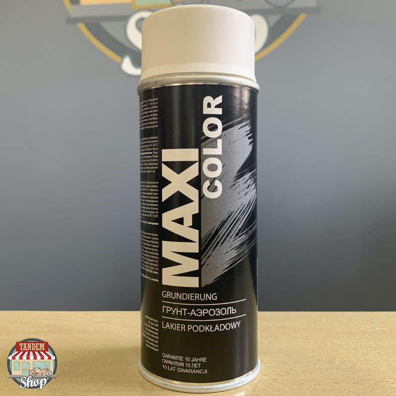 Грунт Maxi Color, 400 мл Аерозоль Білий