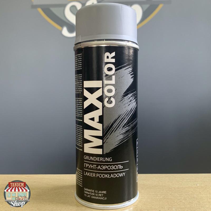 Грунт акриловый Maxi Color, 400 мл Аэрозоль Серый