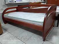 Ліжко полуторне Комфорт кушетка з масиву дерева, Баварія. Київ