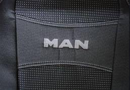 Чехлы на сиденья MAN TGA 1+1 2002-2007 (высокая спинка) 'NIKA'