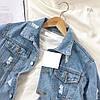 Джинсовая куртка Размер 42-46. Цвет: голубой. (20010), фото 5