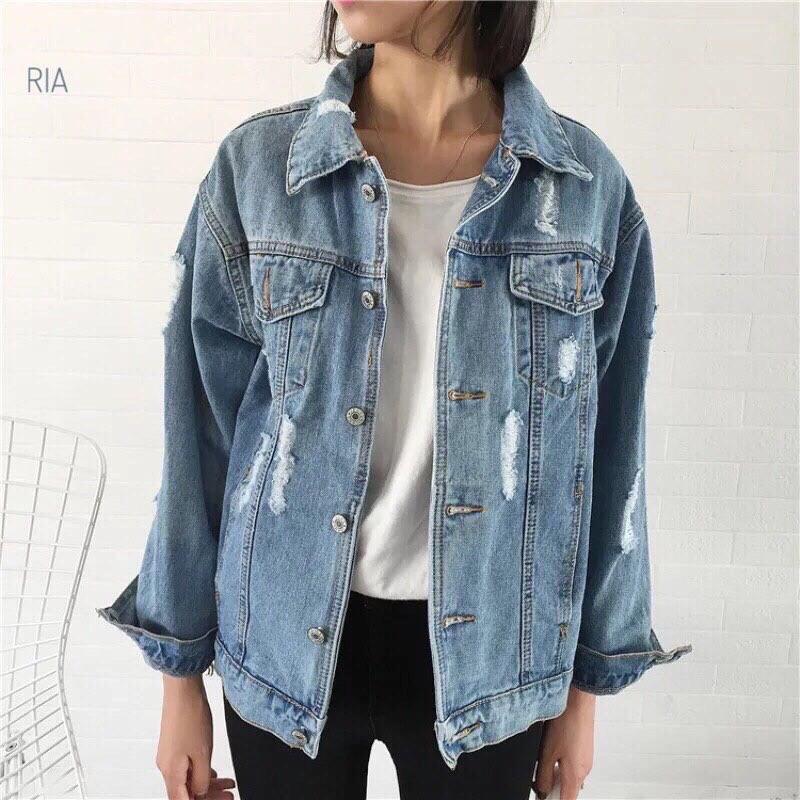 Джинсовая куртка Размер 42-46. Цвет: голубой. (20010)