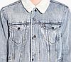 Зимняя джинсовая куртка Levis Trucker -  Fine Line, фото 3