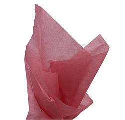 Бумага тишью  нежно красный