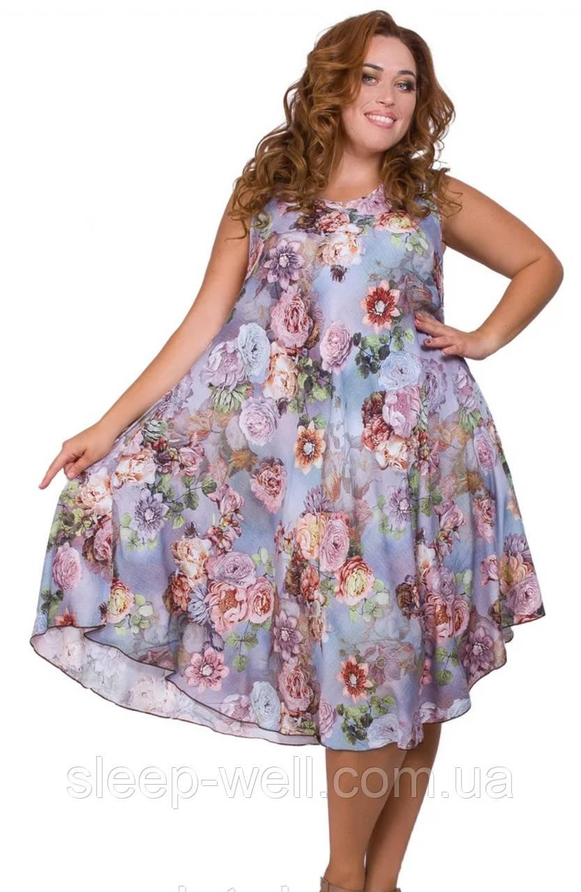 Платье штапельное женское,2231