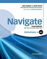 Navigate A2-Elementary Coursebook with DVD and Online Skills / Учебник с диском