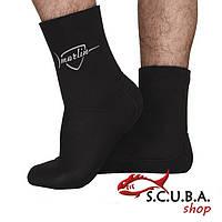 Шкарпетки для підводного полювання MARLIN Anatomic Duratex 10 мм з анатомічним кроєм, розміри 42/43, 44/45, фото 1