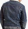 Зимняя джинсовая куртка Levis Trucker - Lucky Town, фото 2
