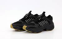 """Кроссовки мужские Adidas Consortium x Naked Magmur Runner """"Черные"""" адидас р. 41-45, фото 1"""