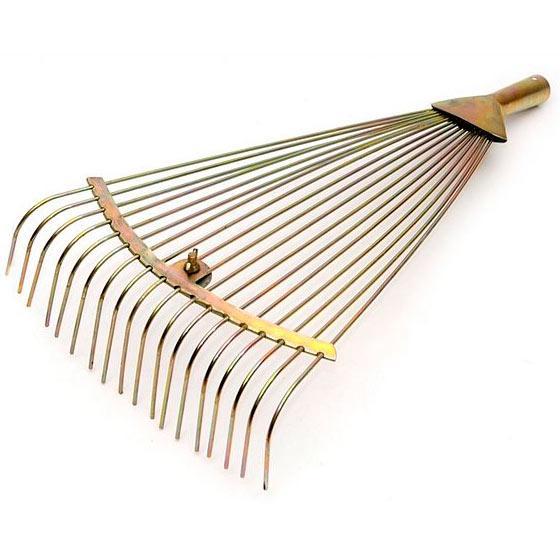 Грабли веерные раздвижные 48 см Молот (85863)