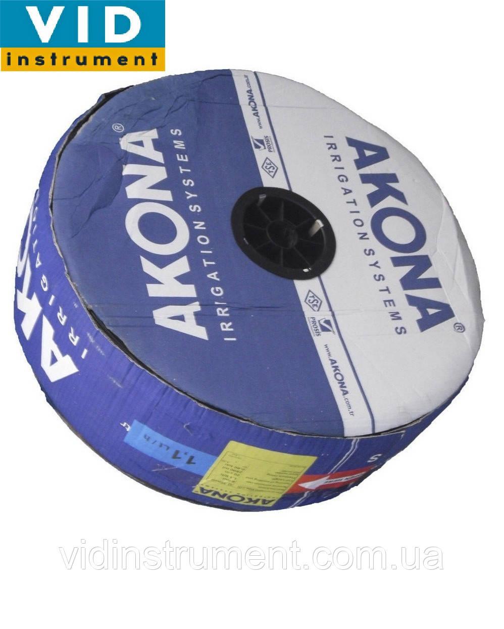 Капельная лента Akona (расстояние 30,стенка 6мм, длина 3000м)