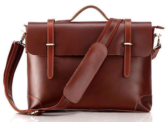 Портфель Vintage 14138 кожаный Коричневый, КоричневыйНет в наличии