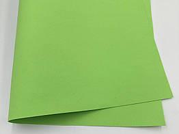 Фоамиран листовой  50 х 50 см. салатовый