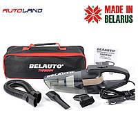 Автомобильный пылесос Белавто Тайфун BA55 110W (сухая и влажная уборка уборка, LED фонарик)