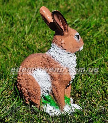 Садовая фигура Заяц полевой, фото 2