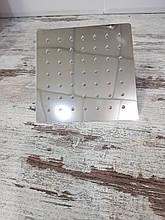 Потолочная лейка для душа квадро-15