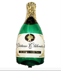 Повітряна куля Пляшка шампанського 37 х 20 см міні фігура