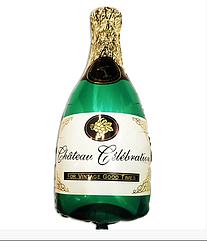 Воздушный шар Бутылка шампанского 37 х 20 см мини фигура