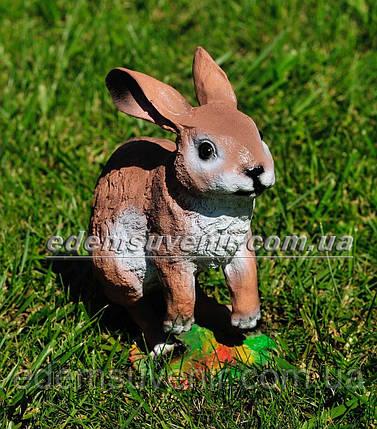 Садовая фигура Заяц прыгун, фото 2